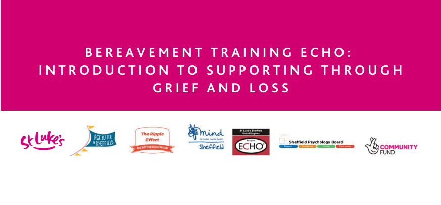 Introduction to Supporting through Grief and Loss webpage header