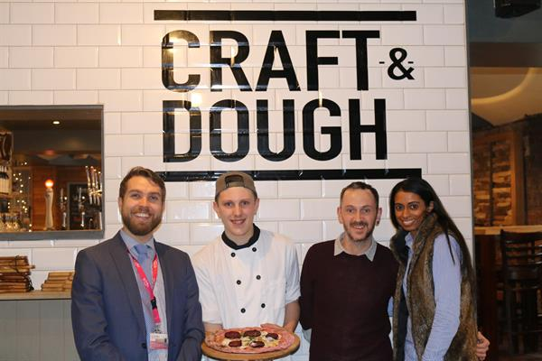 Enjoy A Pizza The Action At Craft And Dough