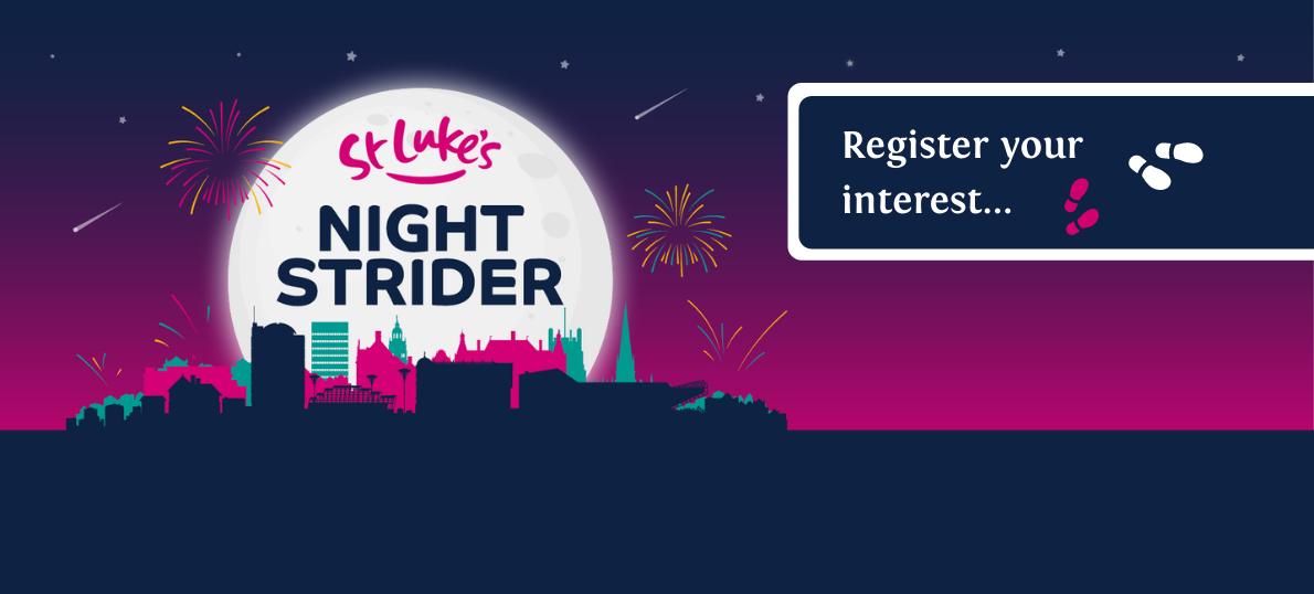 Night Strider 2021 register your interest web banner